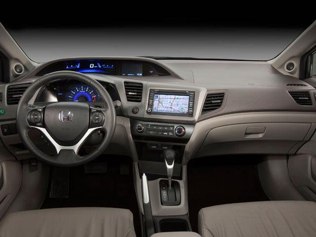 2012 Honda Civic 4dr Auto EX L W/Navi PZEV In Raleigh, NC