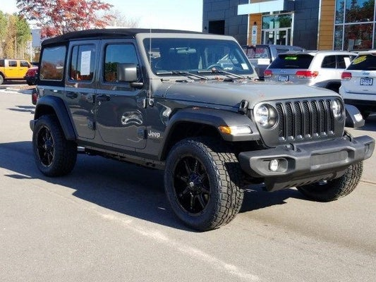 Tire Sale Raleigh Nc >> 2020 Jeep Wrangler Unlimited Sport S 4x4