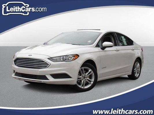 Ford Fusion Hybrid For Sale >> New 2018 Ford Fusion Hybrid For Sale Raleigh Nc 3fa6p0lu3jr255334
